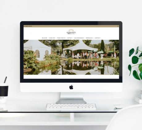 Website Kerkhofs Tent Renting